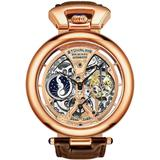 Legacy Automatic Rose Gold Dial Mens Watch - Pink - Stuhrling Original Watches