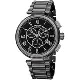 Chronograph Dial Watch - Black - August Steiner Watches