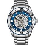 Aquadiver Blue Dial Mens Watch - Blue - Stuhrling Original Watches