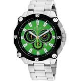 Enzo Chronograph Quartz Green Dial Watch - Green - Roberto Bianci Watches