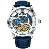 Legacy White Dial Watch - Blue - Stuhrling Original Watches