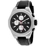 Fratelli Chronograph Quartz Black Dial Watch - Black - Roberto Bianci Watches
