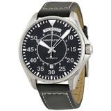 Khaki Pilot Automatic Black Dial Watch - Black - Hamilton Watches