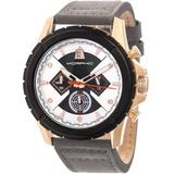 M57 Series Chronograph Silver And Black Dial Mens Watch - Metallic - Morphic Watches