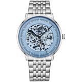 Legacy Blue Dial Mens Watch - Blue - Stuhrling Original Watches