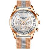 Monaco Silver-tone Dial Watch - Metallic - Stuhrling Original Watches