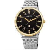 Quartz Black Dial Watch - Metallic - August Steiner Watches