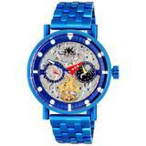 Ak2266 Automatic Watch -050ipbu - Blue - Adee Kaye Watches