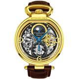 Legacy Automatic Black Dial Mens Watch - Metallic - Stuhrling Original Watches