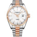 Symphony White Dial Watch - Metallic - Stuhrling Original Watches