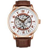Legacy Rose Gold-tone Dial Watch - Metallic - Stuhrling Original Watches