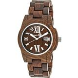 Heartwood Eco-friendly Dark Brown Wood Heartwood Unisex Watch - Brown - Earth Watches