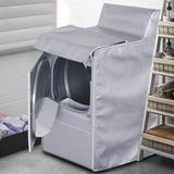 STARTWO Universal Washing Machine/Dryer Burner/Burner Cover in Gray, Size 40.0 H x 29.0 W x 28.0 D in | Wayfair JX009-SV