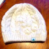 Adidas Accessories   Adidas Clima Warm White Winter Hat   Color: White   Size: Os