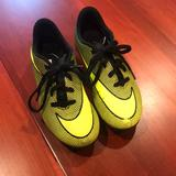 Nike Shoes | Nike Kids Soccer Cleats Size 1y | Color: Black/Yellow | Size: 1y