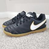 Nike Shoes | Nike Tiempo X Indoor Soccer Football Shoes - Youth | Color: Black | Size: 6bb