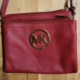 Michael Kors Bags   Beautiful Red Michael Kors Crossbody.   Color: Red   Size: Os