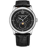 Symphony Black Dial Watch - Black - Stuhrling Original Watches