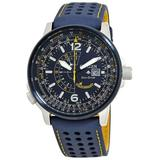 Blue Angels Promaster Nighthawk Eco-drive Blue Dial Watch -02l - Blue - Citizen Watches