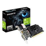 Gigabyte GeForce GT 710 2GB Graphic Cards and Support PCI Express 2.0 X8 Bus Interface. Graphic Cards Gv-N710D5-2Gil (Renewed)