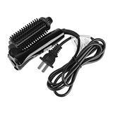 Hair Styling Tool, Hair Curling Iron Wand, Curling Iron Ceramic Tourmaline Foldable Anion Hair Brush Curler Hair Curling Iron Hair Styling Tools