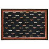 Chandler 4 Corners Artist-Designed River Fish Hand-Hooked Wool Accent Rug (6' x 9')