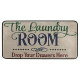 Laundry Room Rug Area Mat Non-Slip The Laundry Room Runner Rug Rubber Backing Floormat Runner, 39 x 20 Inch,Super Absorbent