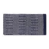 Mayatex Ramrod Doubleweave Saddle Blanket, Navy/Black/Cream, 32 x 64-Inch
