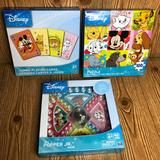 Disney Toys   Nwt Disney Bundle Of Popper Game Cards Puzzle Lot   Color: Blue/Yellow   Size: Osg