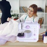 Eleoption Household Mechanical Sewing Machine, Size 10.24 H x 10.83 W x 4.73 D in | Wayfair ELE-873