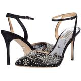 Roe - Black - Badgley Mischka Heels