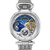 Legacy Blue Dial Watch - Metallic - Stuhrling Original Watches