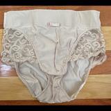 Victoria's Secret Intimates & Sleepwear | 1990s Victorias Secret Shaper Shapewear Panties M | Color: Tan | Size: M