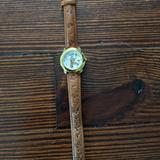 Disney Jewelry | Gold Disney Watch | Color: Brown/Gold | Size: Os