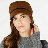 Nine West Accessories | Nine West Wool Newsboy Womens Cap Hat Os | Color: Brown | Size: Os