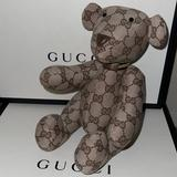 Gucci Toys | Authentic Gucci Baby Teddy Bear Collectors Item | Color: Brown/Tan | Size: Osbb