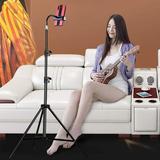 shanglixiansenxinmaoyi Tripod Cell Phone Holder Accessory in Black, Size 17.5 H x 2.8 W x 2.7 D in | Wayfair hmamzsjzj028