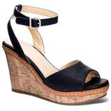 Booming Open Toe Wedge Sandals - Black - CL By Chinese Laundry Heels
