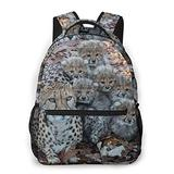 Game-JAY Fashion Cheetah Family Casual Bookbag School Student Backpack For Travel Teen Girls Boys Kids Adult Gift