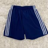 Adidas Bottoms | Adidas Youth Climalite Sport Soccer Shorts | Color: Blue/White | Size: Unisex Youth Medium