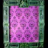Disney Wall Decor | Haunted Mansion Picture Frame | Color: Gray/Purple | Size: 8x10
