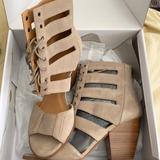 Nine West Shoes | Nine West Shoe Boot Sandal | Color: Tan | Size: 10.5