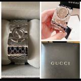 Gucci Accessories   New   Gucci Twirl Bangle Style Steel Mop   Color: Silver   Size: Os