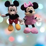 Disney Toys | Disney Mickey & Minnie 9 Plush Toys | Color: Black/Pink | Size: Osg