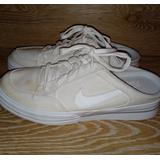 Nike Shoes | Nike Mule Sneakers | Color: Cream/White | Size: 9.5