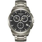 Titanium Chronograph Bracelet Watch - Metallic - Tissot Watches