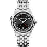 Jazzmaster Automatic Bracelet Watch - Metallic - Hamilton Watches
