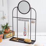 Tabletop Vanity Mirror and Jewelry Stand - CTW Home Collection 370458