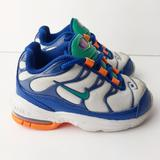 Nike Shoes   Nike Air Max Plus Gym Blue Sneaker Baby 5 Lace Up   Color: Blue/White   Size: 5bb