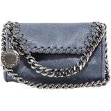 Falabella Micro Crossbody Bag - Blue - Stella McCartney Shoulder Bags